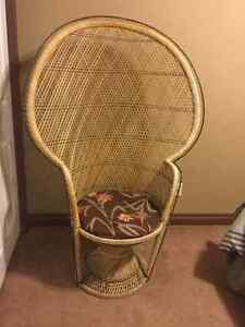 Wicker chair for sale- great for photography seat