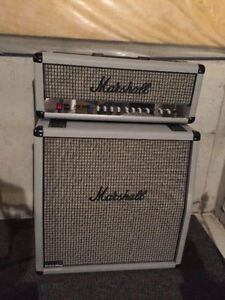 Marshall JCM 2000 DSL 100 Silver Limited Edition Amp
