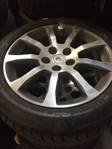 235/50R18 MICHELIN LATITUDE mags Cadillac CTS 5X120