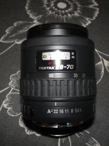 Pentax SMC FA 28-70mm/ f4 AL lens