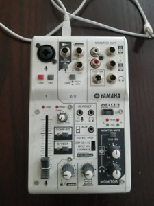 Yamaha USB Mixer Great for Streaming!