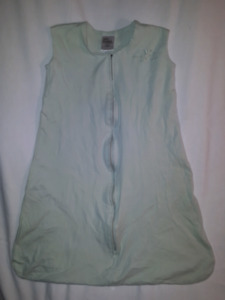 Green HALO Sleepsack Wearable Blanket Med 6/12mts Gender Neutral