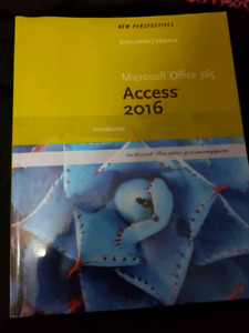 NEW PERSPECTIVES: Microsoft office 365. ACCESS 2016 INTRODUCTORY