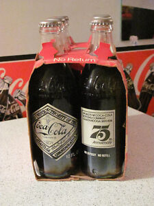 75TH ANNIVERSARY COCA COLA  6-PACK Kitchener / Waterloo Kitchener Area image 2