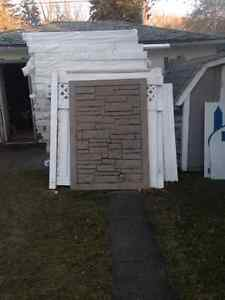 Simtek stone fence gate and panels Regina Regina Area image 1