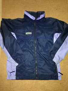Ladies'/Girls' Columbia Jersey lined nylon jacket 14/16