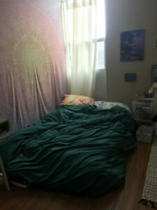 Mattress (and bedding) for sale! Basically new
