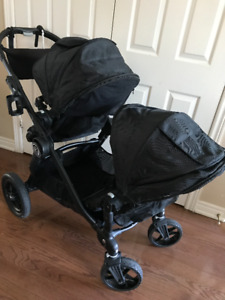 City Select Baby Jogger Double stroller Onyx with extras 2015/16