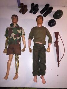 Vintage G.I joe dolls