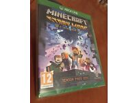 Mine craft story mode game for Xbox one
