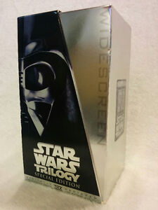 Star Wars Trilogy VHS Special Edition Box Set - Silver Edition