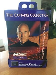 Star Trek The Captain Collection box set VHS