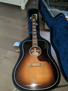 Gibson Songwriter Deluxe Studio Burst