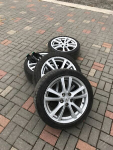 18 inch toyota/lexus tires and rims