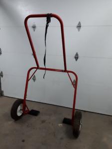 Chariot pour motoneige