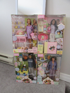 FOR SALE:  Happy Family Barbie collection