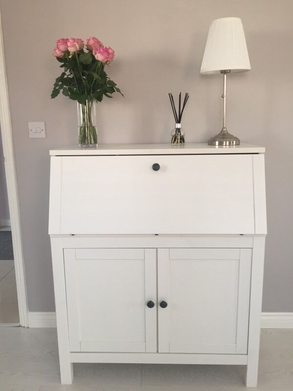 ikea hemnes bureau white stain in bracknell berkshire. Black Bedroom Furniture Sets. Home Design Ideas