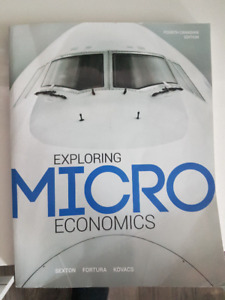 Microenonomics book for sale