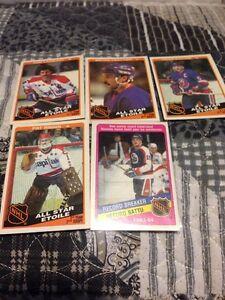 1984-85 OPC O pee Chee hockey cards
