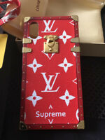 HOT LUXURY IPHONE X LV-06 RED CASE