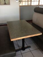 Restaurant Booths, Tables, Chairs