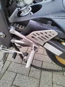 YAHAHA R6R 2008 2014 REARSETS DRIVERS AND PASSANGER FOOT PEGS