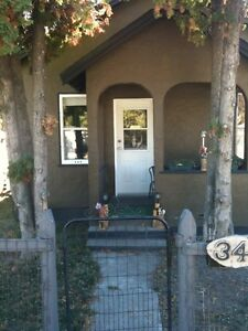 Vernon house for rent down town location pet friendly and garage