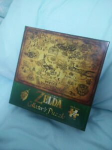 The Legend of Zelda Hyrule Map Puzzle