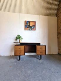 Teak Mid Century Vintage Desk by G Plan