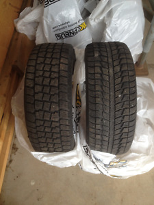 205 / 55 - 16 Winter Tires - off Audi A4
