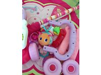 Free baby gym for girl (no walker sorry gone)