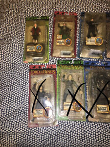 Figurines seigneurs des anneaux lot lord of the rings