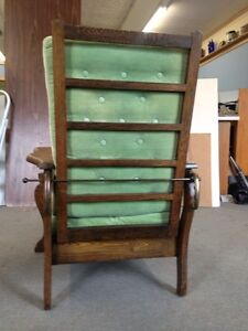 Antique Morris Recliner Chair Stratford Kitchener Area image 3