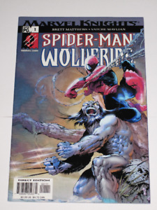 Marvel Comics Spider-Man / Wolverine#1 (2003) comic book