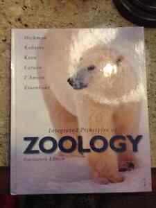 Integrated Principles of Zoology, 14th edition. Hickman, Roberts Kitchener / Waterloo Kitchener Area image 1