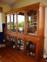 Custom Built China Cabinets