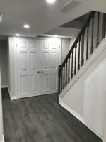 BASEMENT FINISHING $22 sq.ft. including labour and materials
