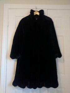 Ladies' Black Winter Coat