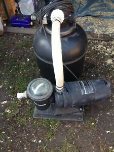 Pool pump and filter Cornwall Ontario image 1