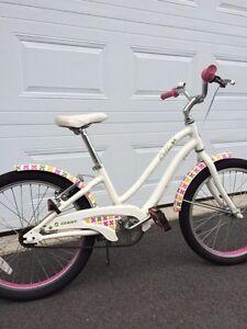 """Girls 20"""" Giant bike"""