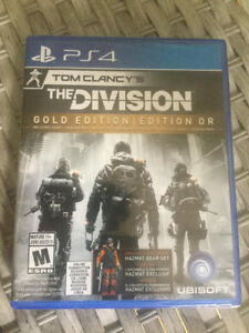 Tom Clancy's The Division Gold Edition- PS4