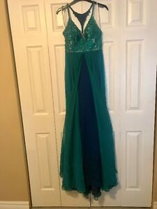 Two individual pageant/prom dresses