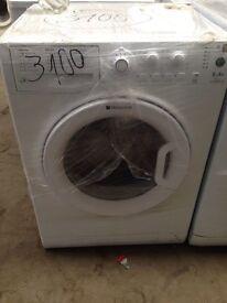 Washing machine 12 months warranty