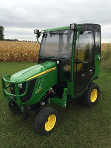 Compact tractor Cabs Heaters available Summer savings