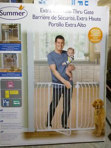 Summer extra tall baby gate