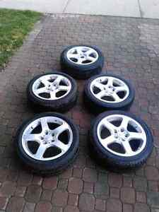 G35 rims and tires
