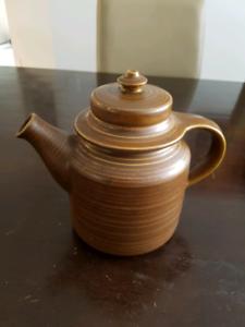 Vintage arabia finland teapot retro