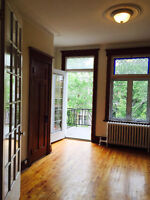 CHARMING IMMACULATE 4 1/2 FOR RENT IN THE PLATEAU