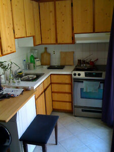 2 closed bedrooms, 3.5 apartment in Mile End, very big backyard