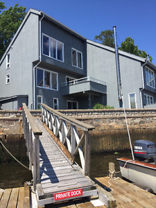 Waterfront Townhouse – Directly on Bedford Basin – Amazing Views